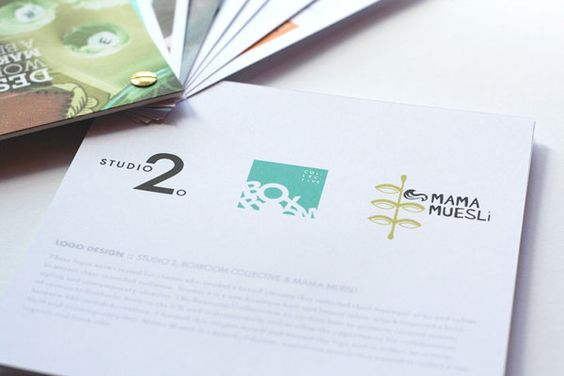 Self Promotional Booklet by Miriam McWilliam, via Behance