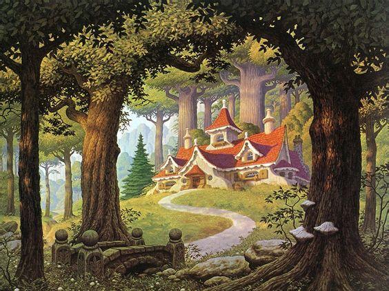 Pinterest the world s catalog of ideas for Fairy forest mural