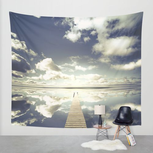 Vanity Wall Tapestry by HappyMelvin   Society6