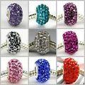 Swarovski S-Color Crystal 925 Sterlin...