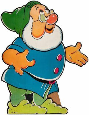 7 Dwarfs Vintage Standups Disney Malvorlagen Disney Cartoons Marchen Comics