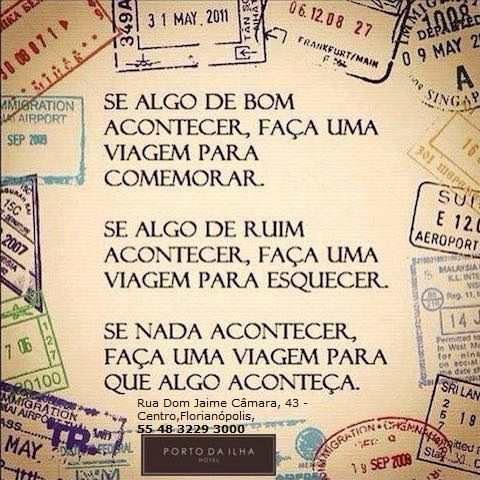 Desejamos à todos uma ótima semana!!!! www.portodailha.com.br