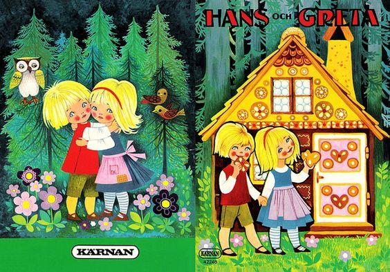 Hans och Greta AUTHOR Bröderna Grimm ILLUSTRATOR FK PUBLISHER Kärnan.