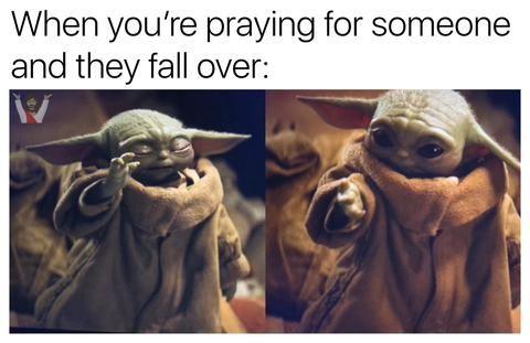 Christian Memes Baby Yoda Christian Memes Yoda Meme Memes