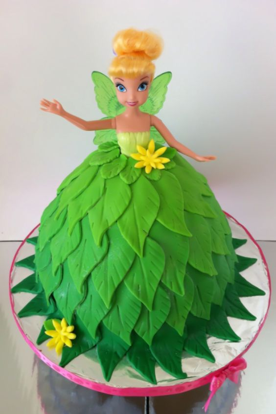 Tinkerbell Fondant Cake