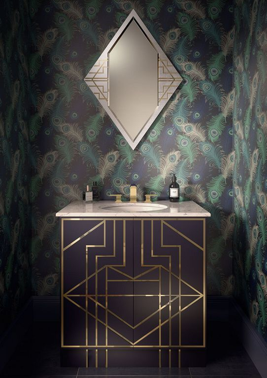 Art Deco Bathroom Vanity 10 Art Deco Bathroom Vanity Art Deco Bathroom Art Deco Interior