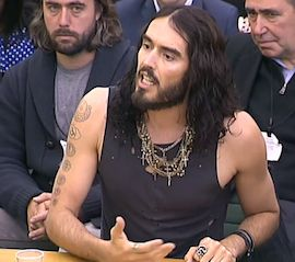 Very important -- Video: Russell Brand Speaks in UK Parliament. The comedian tells a British drug policy committee that addicts are sick, not criminals, and calls for more compassion.