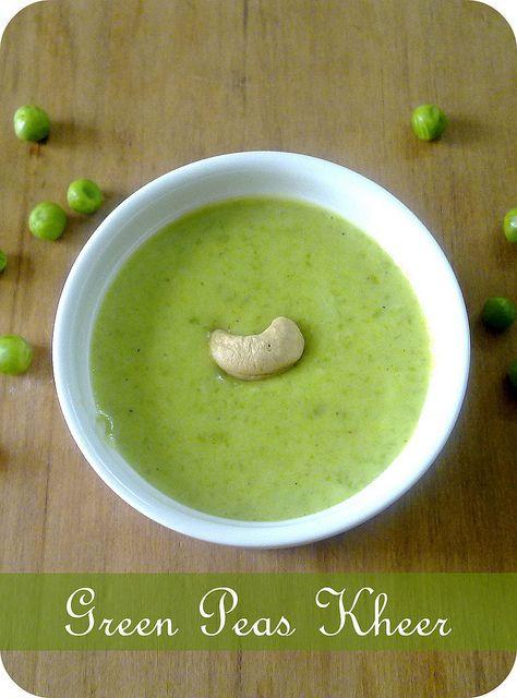 Green Peas Kheer/ Pudding