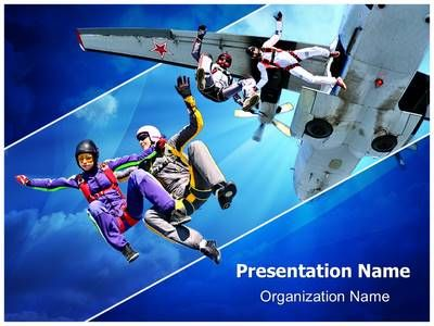 Sports  Athletics High Jump Powerpoint Template  Sports