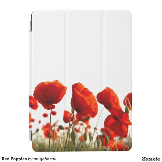 Red Poppies iPad Air Cover