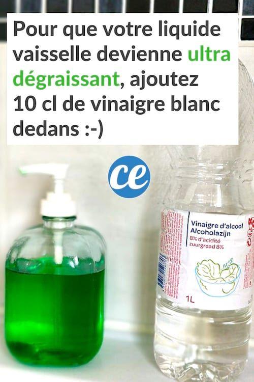 Le Secret Pour Que Votre Liquide Vaisselle Devienne Ultra