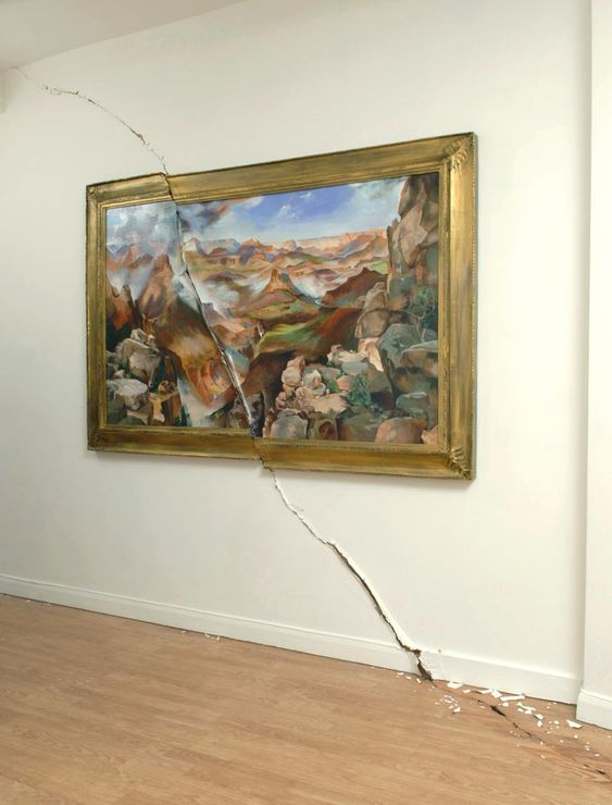 Valerie Hegarty: Slash & Burn Art • Lazer Horse