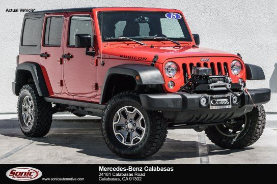 Sport Utility 2015 Jeep Wrangler 4wd Unlimited Rubicon With 4 Door In Calabasas Ca 91302 2015 Jeep Wrangler