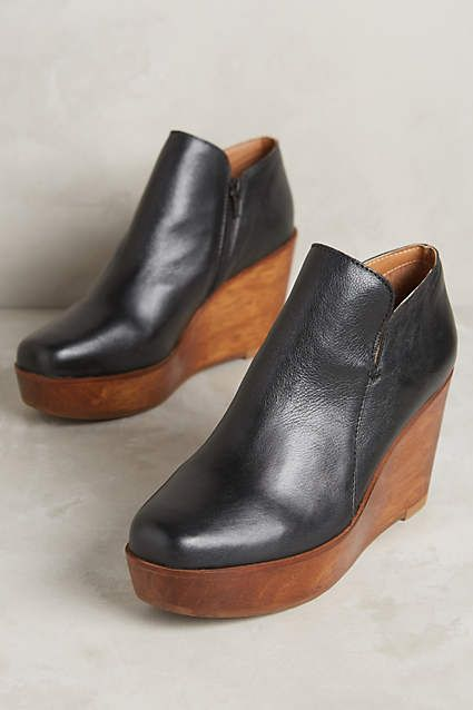 Kelsi Dagger Upstate Platform Booties - anthropologie.com