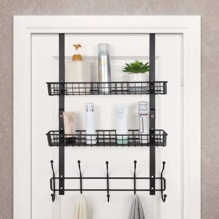 Amazon Over Door Bathroom Storage | Apartment Therapy