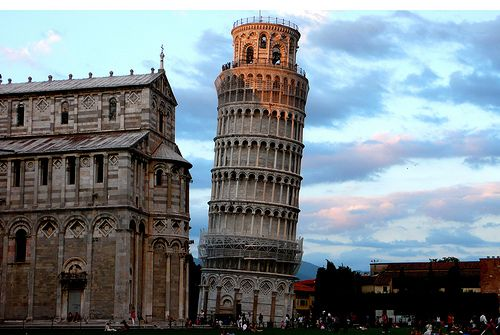 the leaning tower of pisa!!