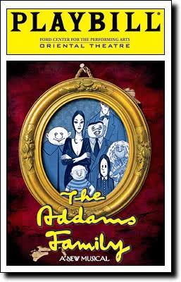 Addams family musical broadway.  Nathan Lane was terrific!