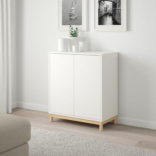 Ivar Cabinet With Doors White Ikea Eket Ikea Eket Ikea