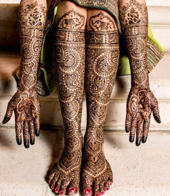 Intricate Mehndi Patterns : Indian intricate bridal henna designs pinterest