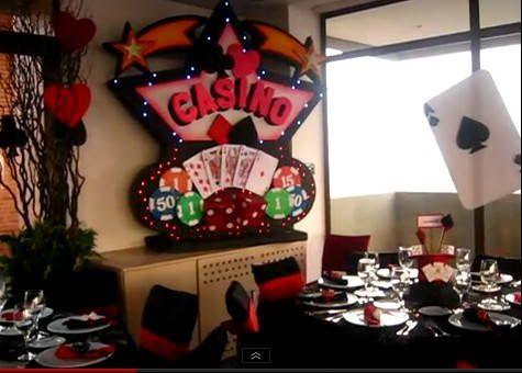 Fiesta tema casino 15 a os 15 a os pinterest fotos for Decoracion salon 50 anos hombre