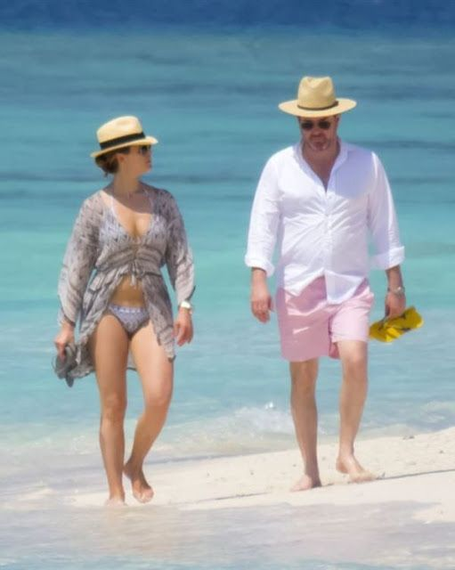 Princess Madeleine and Chris O'Neill relaxing in Maldives in Jan. 2016
