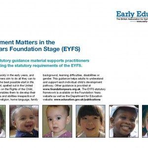 2012 Revised EYFS Development Matters Booklet 136(1)