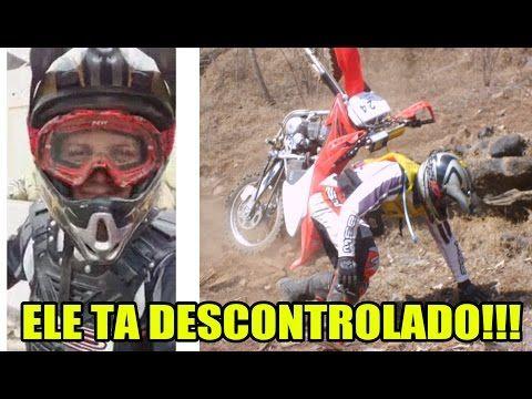 O João desistiu de fazer trilha e Virou Piloto de MOTOCROSS kkkk - YouTube
