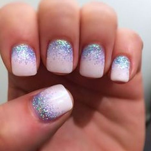 Best Winter Nails For 2018 45 Cute Winter Nail Designs Best Nail Art Glitter Nail Art Nail Art Designs Creative Nails
