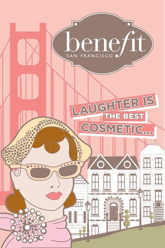 Benefit Cosmetics - cute ad <3