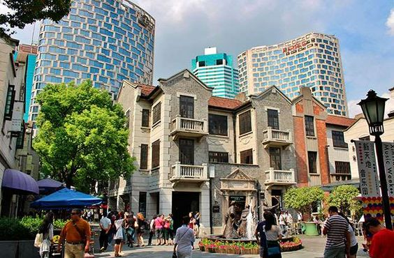 In 1849, Shanghai ceded an area for French settlement to the French Consul. The French consulate bui... - French Concession