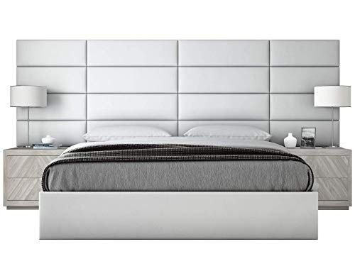 Vant Upholstered Wall Panels King Cal King Size Wall Mounted Headboards Vitage Leather Wh Upholstered Walls Upholstered Wall Panels Wall Mounted Headboards
