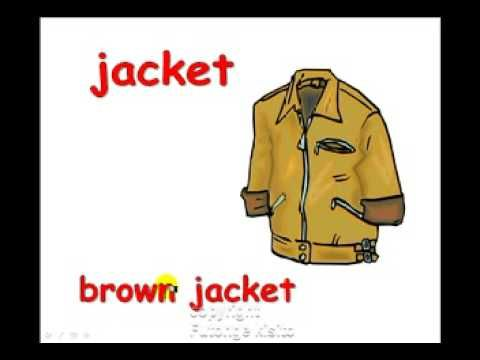 clothes describing - YouTube
