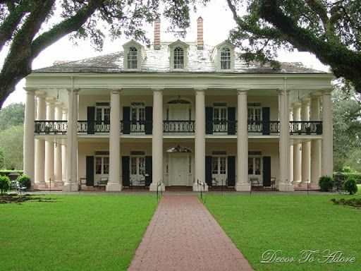 gallery for french plantation style house dream a