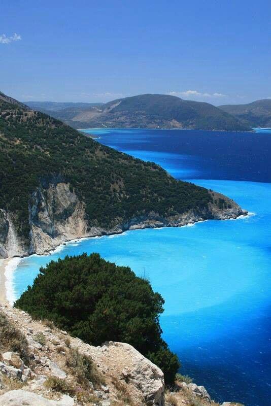 Playa de Mirtos Cefalonia, Islas Jónicas, Grecia