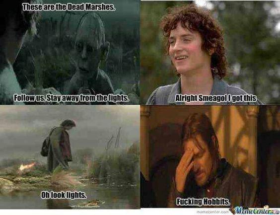 Fucking hobbits oh poor Frodo