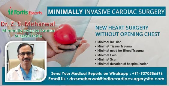Minimally Invasive Cardiac Surgeon in India