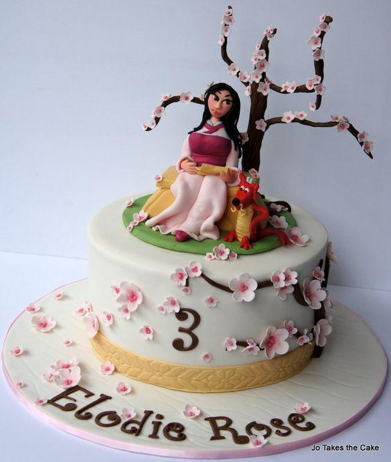 Cake Decorating Bagshot : Mulan, Website and Bolos on Pinterest