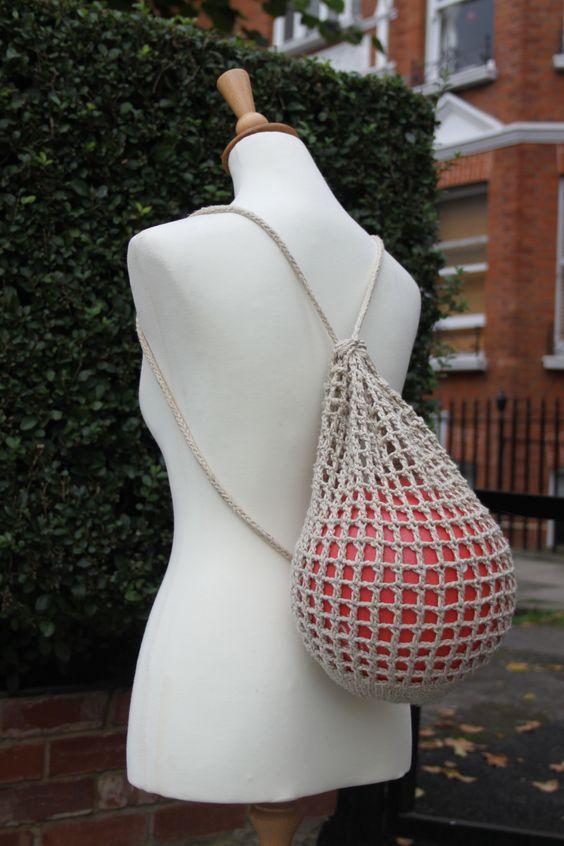 Ball bag, made to order, £18
