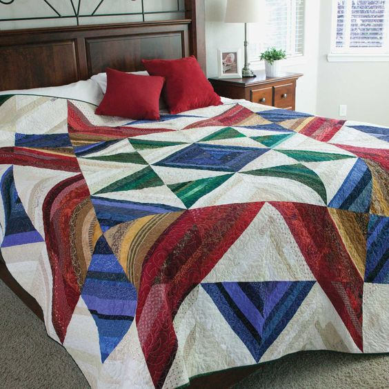 Mccall s quilting, Queen size quilt and Queen size on Pinterest