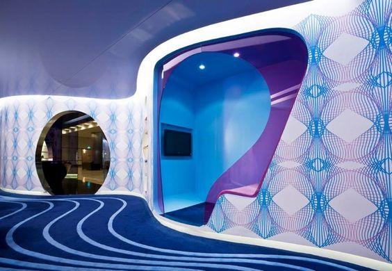 karim rashid, vip lounge, Instanbul airport