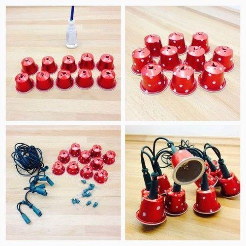 Super Nespresso DIY How to make Christmas bells | Organizador  WD53