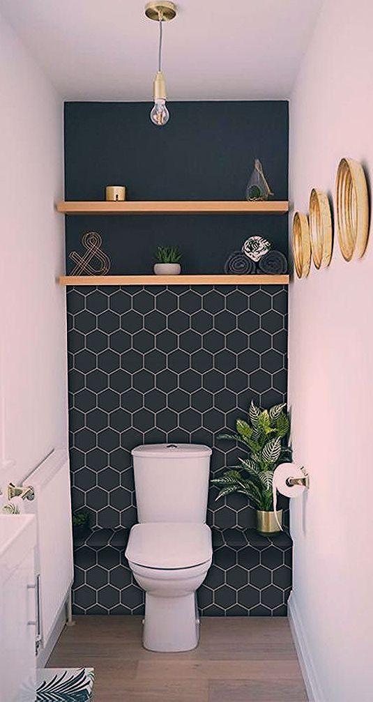 Kitchen And Bathroom Splashback Removable Vinyl Wallpaper Hexa Ebony Peel Stick Bathroom Ebo Bathroom Splashback Pallet Bathroom Kitchens Bathrooms