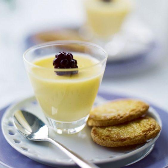 Lemon posset - This easy lemon posset recipe makes a remarkable, tangy dessert