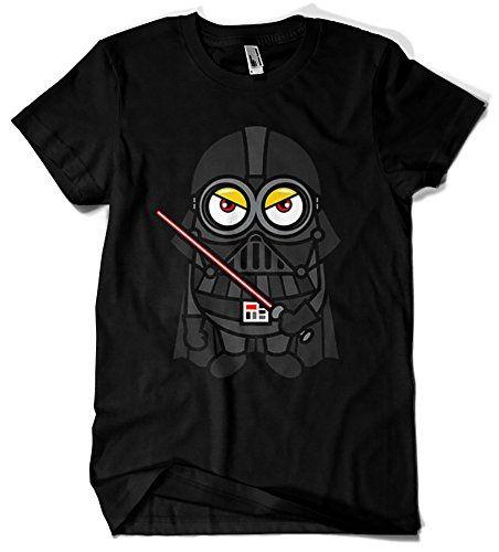 Camiseta - Minions Vader #camiseta #realidadaumentada #ideas #regalo