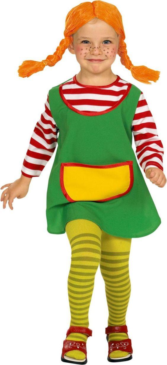 Süße Kostüme für Kleinkinder -Pippi Langstrumpf
