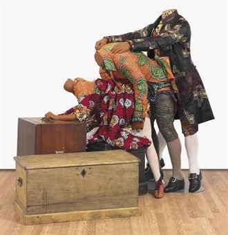 Yinka Shonibare: GALLANTRY AND CRIMINAL CONVERSATION (THREESOME)
