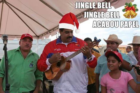 RS Notícias: Cantiga de Natal do Madurinho a todos venezuelanos...
