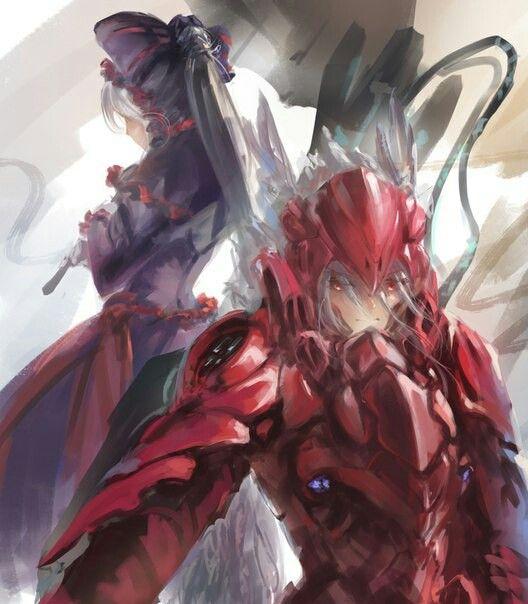 Shalltear Bloodfallen Illustration Anime Zeichnung