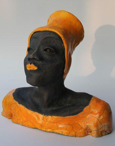 woman, raku