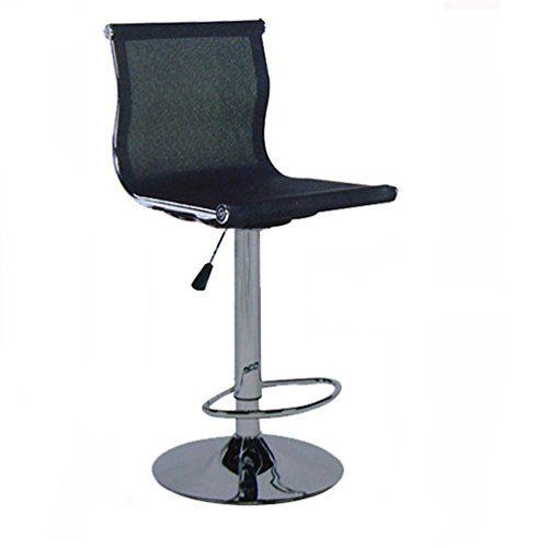 Liftable Office Chair Rotatable Computer Chair Reception Desk Chair Barstool Household Computer Stool Net Reception Desk Chairs Counter Chairs Computer Chair